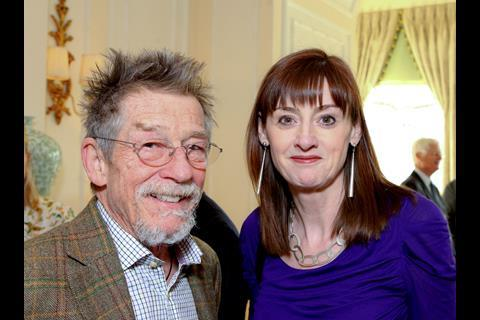John Hurt and Amanda Berry